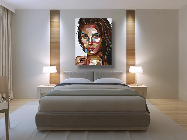 תמונת פופ ארט לסלון או לחדר שינה