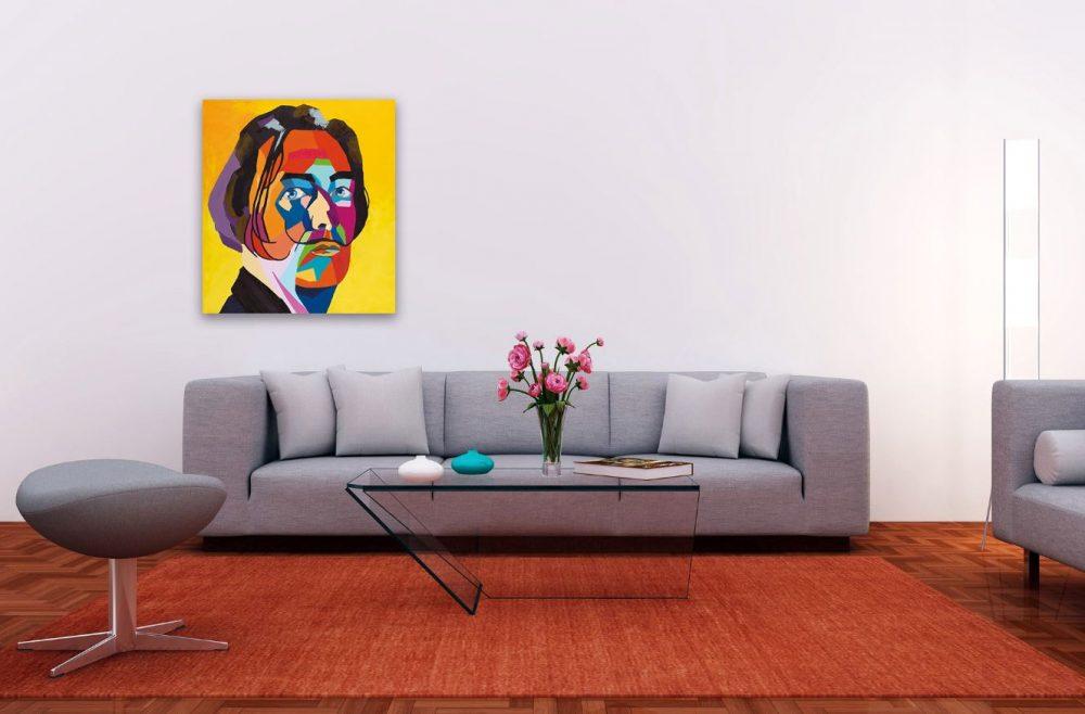 ציורי פופ ארט לסלון