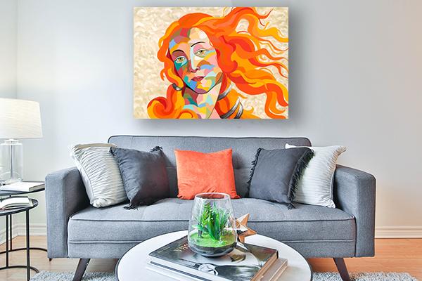 ציור שמן לבית לסלון