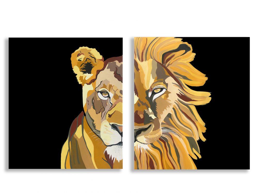 זוגות - אריה ולביאה