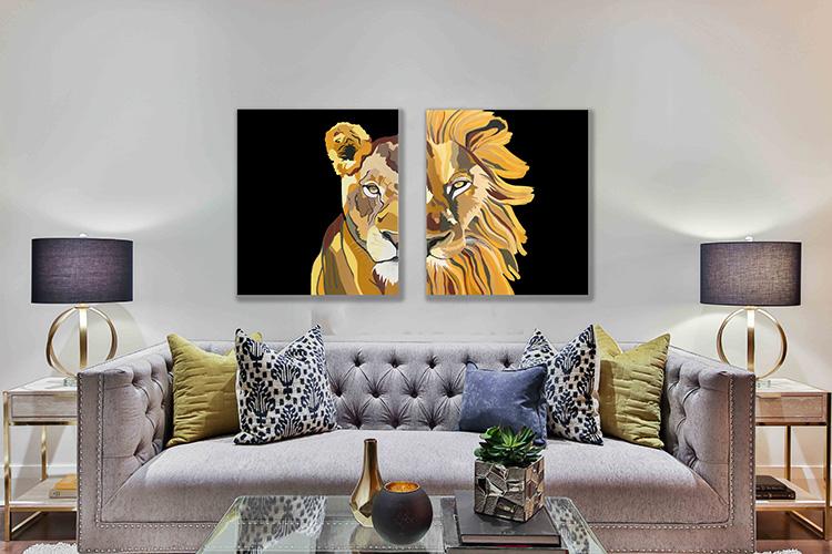 זוגות אריה ולביאה