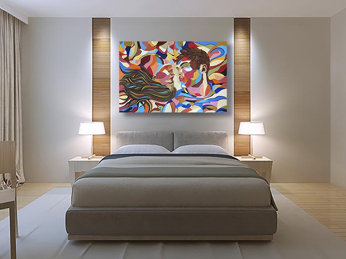 תמונת פופ ארט לסלון ולחדר שינה