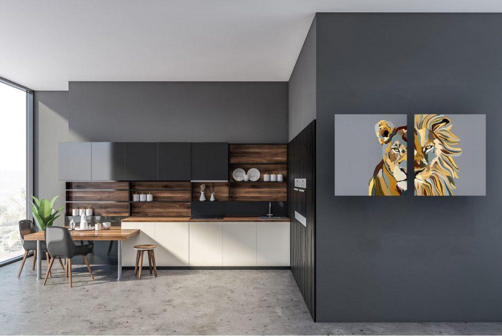 ציורים למטבח