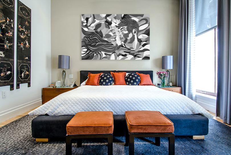 ציורים למכירה - סיפור אהבה