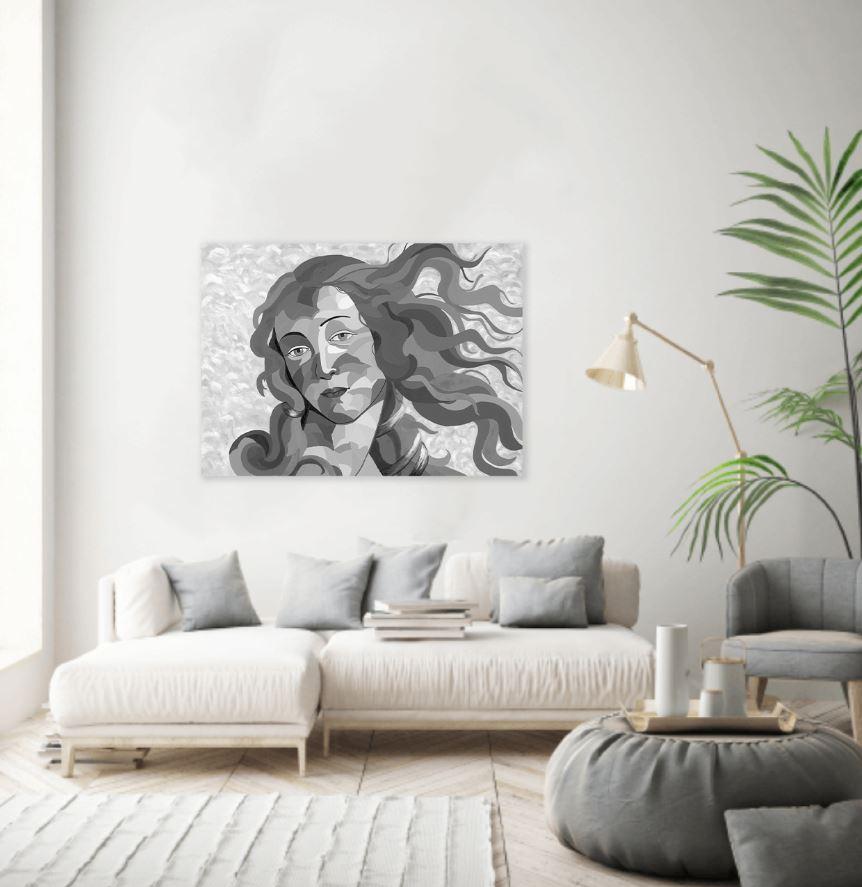 ציורים לסלון - ונוס