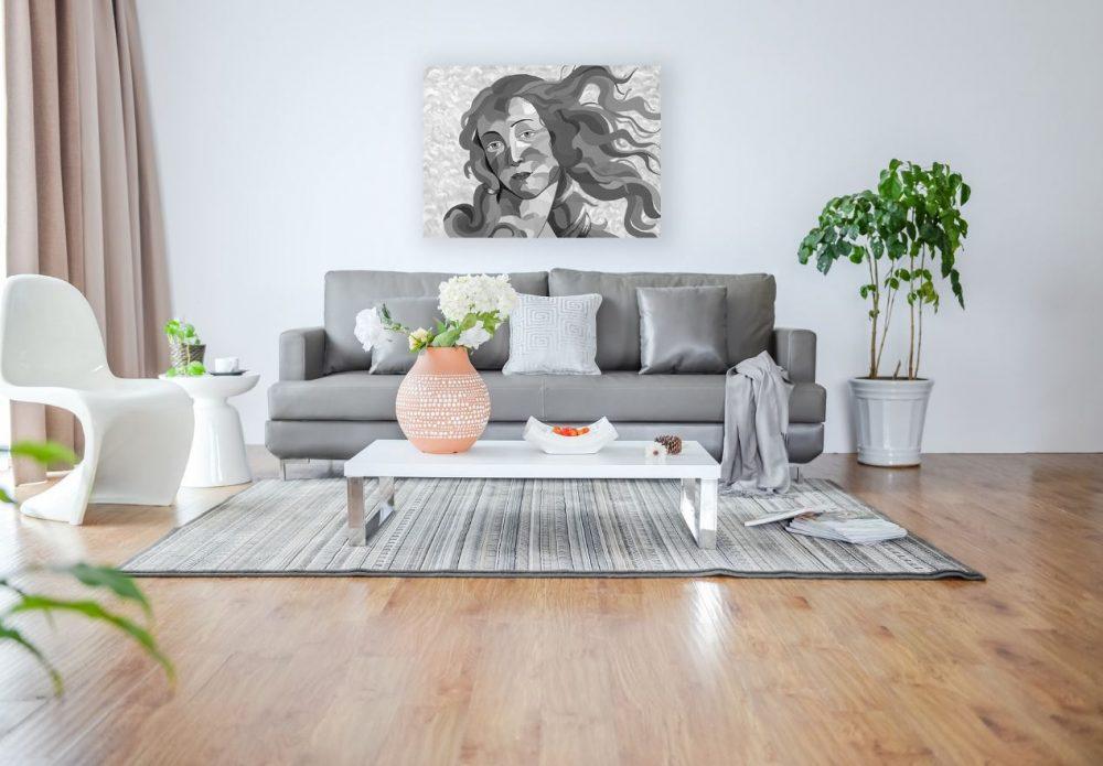 ציורים גדולים לסלון - ונוס