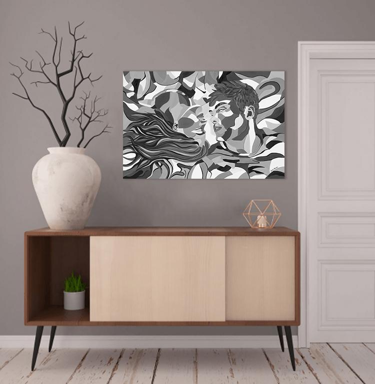 ציורים לבית - סיפור אהבה